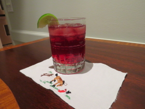 This Pomegranate Spritzer is my creation