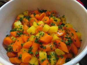 Glazed Carrots and Rutabegas