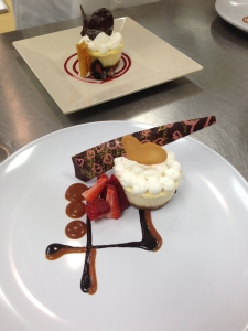 Cheese Cake - Choc & caramel strawberry