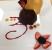 Chocolate Mouse granache cake plating