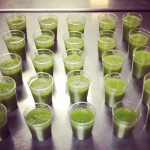 Honeydew Cucumber Mint Soup